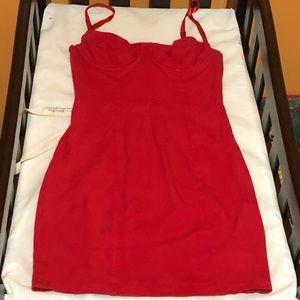 American Apparel Red Dress $20
